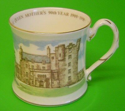 Coalport The Queen Mothers 90th year 1900-1990 - Castle of Mey -Ltd Ed of 5,000