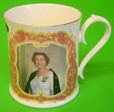 Aynsley 40th Anniversary of Her Majesty the Queen's Accession to the Throne Mug