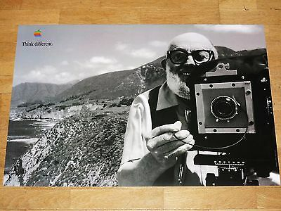 APPLE THINK DIFFERENT POSTER - ANSEL ADAMS / 24 x 36 by STEVE JOBS 61 x 91 CM