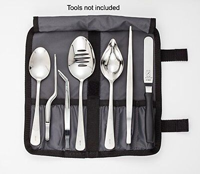 Mercer Culinary M30920 Plating Tool Roll, Black