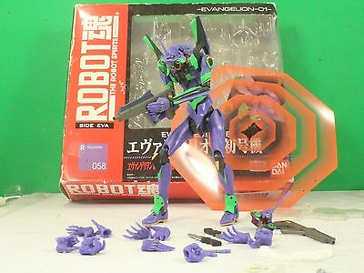 evangelion eva-01 test type bandai tamashii nations robot spirits used