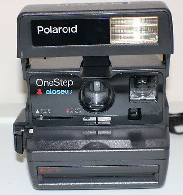 Polaroid One Step Close Up Instant Camera No Film, Tested working.