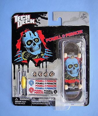 Tech Deck   POWELL PERALTA   Blue Skull