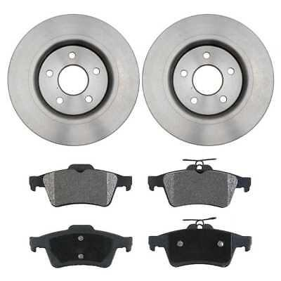 Set of Brake Rotors and Performance Brake Pads fits Volvo with Lifetime Warranty
