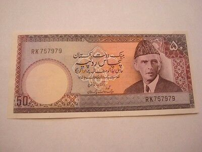 Banknote, State Bank of Pakistan, 50 Rupees,   ( LL )