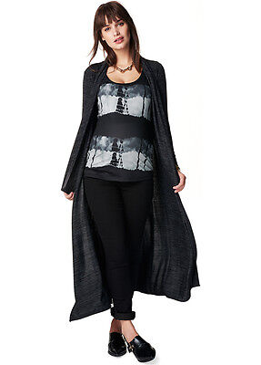 NEW - Noppies - Jody Long Knit Cardigan - Maternity Cardigan
