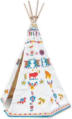 Indian Teepee by Vilac | Kids Childrens Playhouse Indoor Tent Teepees NEW