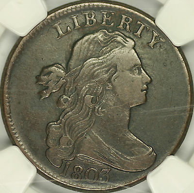 1803 Draped Bust Large Cent NGC XF40