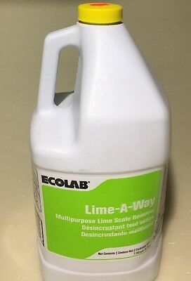 1 Gallon Ecolab Lime A Way FREE SHIPPING