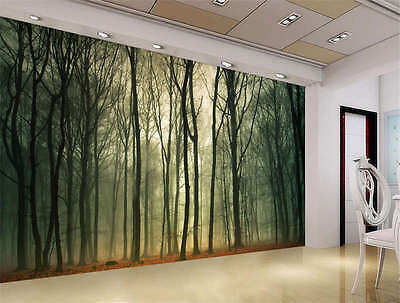 Top Fields Forest Landscape Full Wall Mural Photo Wallpaper Print Home 3D Decal