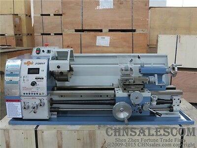 "11"" x 28"" High Precision Gear Head Variable Speed Metal Lathe   JY290V-F"