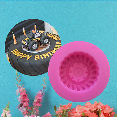 Car Tyre Silicone Cake Mould Car Tractor Motorbike Chocolate Fondant Mold
