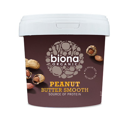 Biona | Peanut Butter Smooth Organic | 1kg