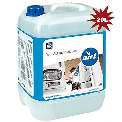AdBlue 20 Litre Diesel Exhaust Treatment With Free Pouring Spout