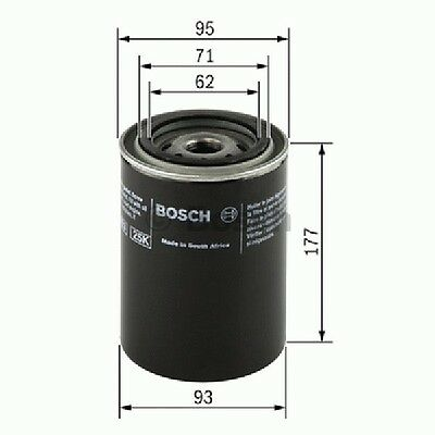 0451203220 Bosch Oil Filter P3220 [Filters - Oil] Brand New Genuine Part