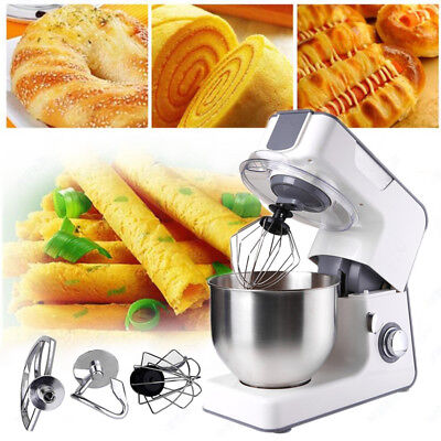Classic Stand Mixer 5.5L 1000W 8 Speed Kitchen Cooking Dough Bread Cake Powerful