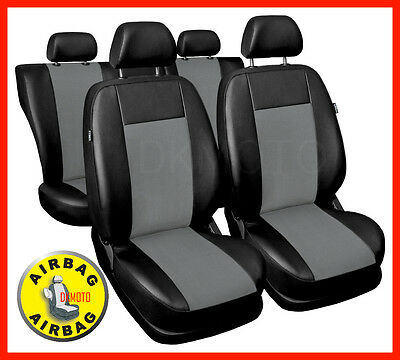 Leatherette full set of CAR SEAT COVERS fit Ford Focus Mk2 - universal