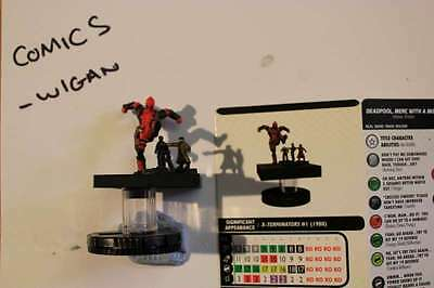 Marvel Heroclix Deadpool and X-Force#060 Deadpool Merc with a Mouth