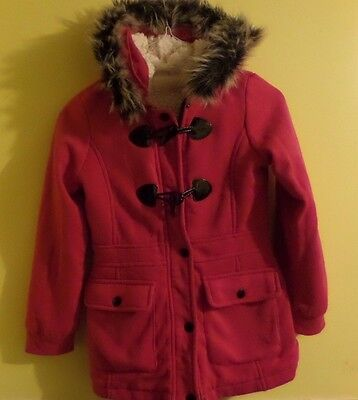CANYON RIVER BLUES Pink Winter Coat - Girl's Size Large 14