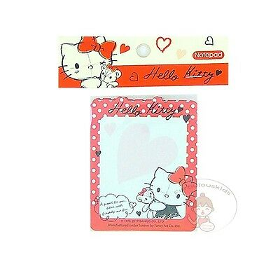 Sanrio Hello Kitty 50 Sheets Notepad/memo Pad/cute Paper/small Note/die-Cut #j