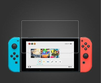 2 Pieces Tempered Glass Screen Protector For Nintendo Switch Console