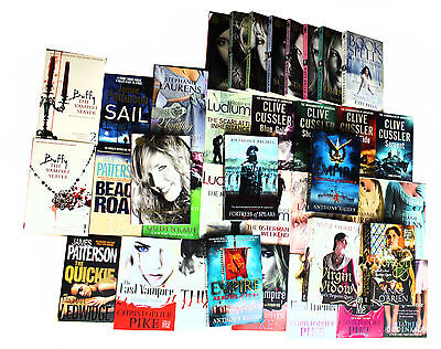 Wholesale Job lot of 100 Fiction Crime Books, Best Selling Brand New Free P & P
