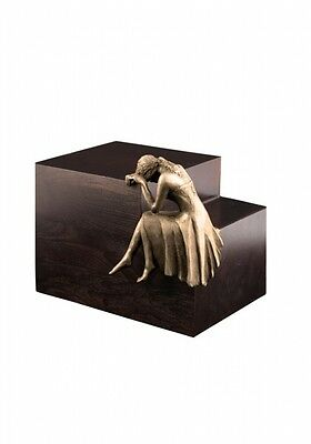 Beaminster Weeping Angel Bronze Cremation Ashes Urn