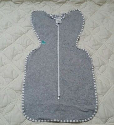 Love to Dream Love To Swaddle UP Original Gray Medium 13-18.5 lbs 3-6 M