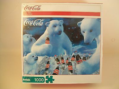 NIB Coca Cola Polar bear 1000 pc puzzle