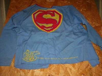 Vintage childs superman suit