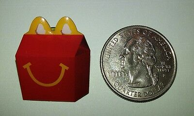 USED ~ McDonald's Happy Meal Box ~ Lapel Pin ~ Pinback ~ 2008