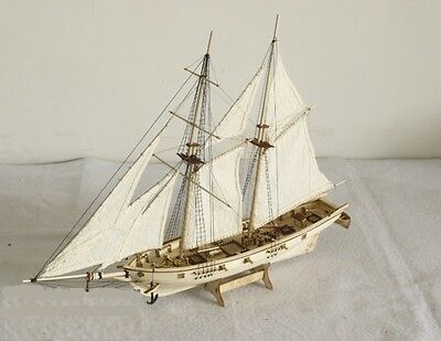 Hobby wood ship model Scale 1/100 HALCON 1840 sail boat wooden model kit