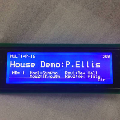 Blue LCD Display Replacement Yamaha SY77, SY99, TG77 Cable Kitl, LED Backlight