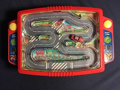 Mach 5 Electronic Handheld Racing Game From 1991 - Tested And Works