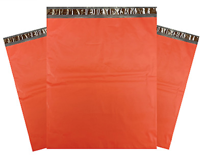"""1-1000 10x13 Red Color Designer Poly Mailer Shipping Self Seal Bags 10"""" x 13"""""""