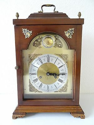 Junghans Vintage Antique German Mantel Shelf Clock (Mauthe Hermle Kienzle era)