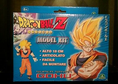 Dragon Ball Z Super Saiyan 3 Son Goku Figure Model Kit NIB VERY RARE Italian