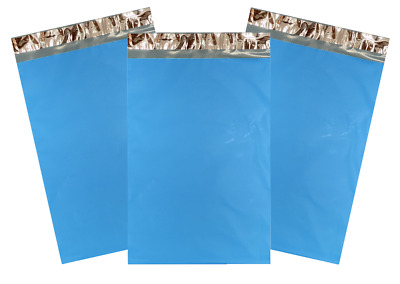 """1-1000 10x13 Blue Color Designer Poly Mailer Shipping Self Seal Bags 10"""" x 13"""""""