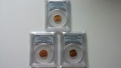2009 Lincoln Satin Presidency Sp67 Professional Sp68 Childhood Sp68 Lot