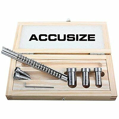 Accusize - No.00 HSS Keyway Broach Precision Sets In Fitted Wooden Box,