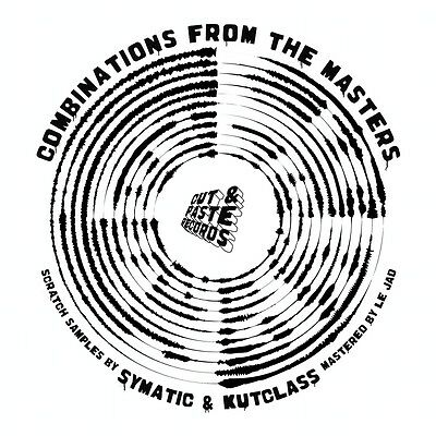 """Combinations from the Masters Skipless Scratch Vinyl CUT and Paste Records 12"""""""