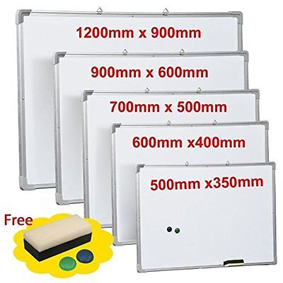 OGIMA Dry Erase Board 48 x 36 inches Magnetic Writing Whiteboard Office