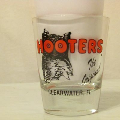 Hooters Clearwater Florida Shot Glass The Original
