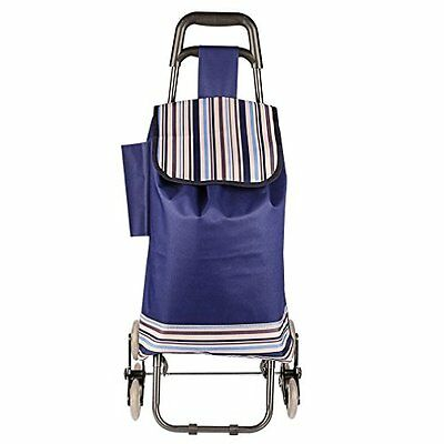Stair Climbing Multipurpose Folding Utility Cart for Laundry, Grocery, Shopping