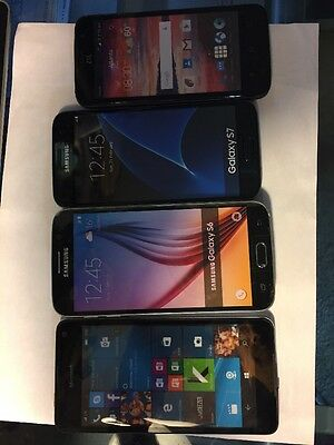 Lot of 5 Cell Phone Dummies Display Phones Look Real Parts Name Brands