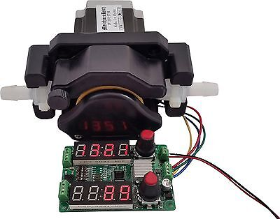 Peristaltic Metering Pump with Stepper Motor and Controller, 12-36V 2200mL/min
