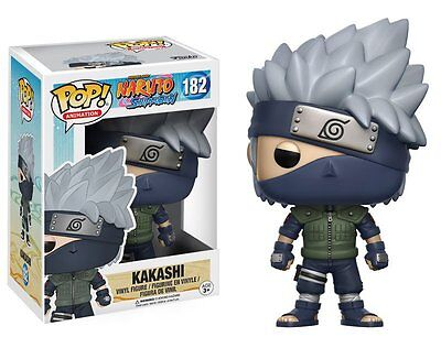 FUNKO POP NARUTO SHIPPUDEN Vinyl Figure KAKASHI #182 Funko Authentic