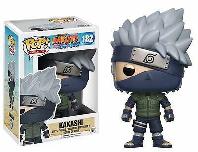 POP! ANIMATION: NARUTO SHIPPUDEN Vinyl Figure KAKASHI #182 Funko Authentic