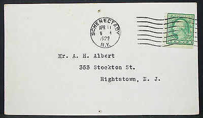 General Electric Company US ADV Card Schenectady NY EF USA Post Karte (H-10193