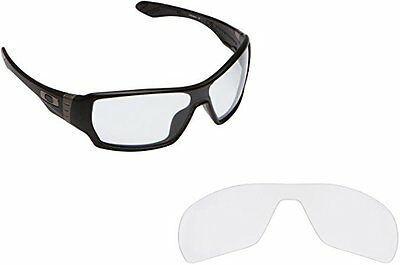 Fit&See Polarized Crystal Clear Replacement Lenses for Oakley Offshoot